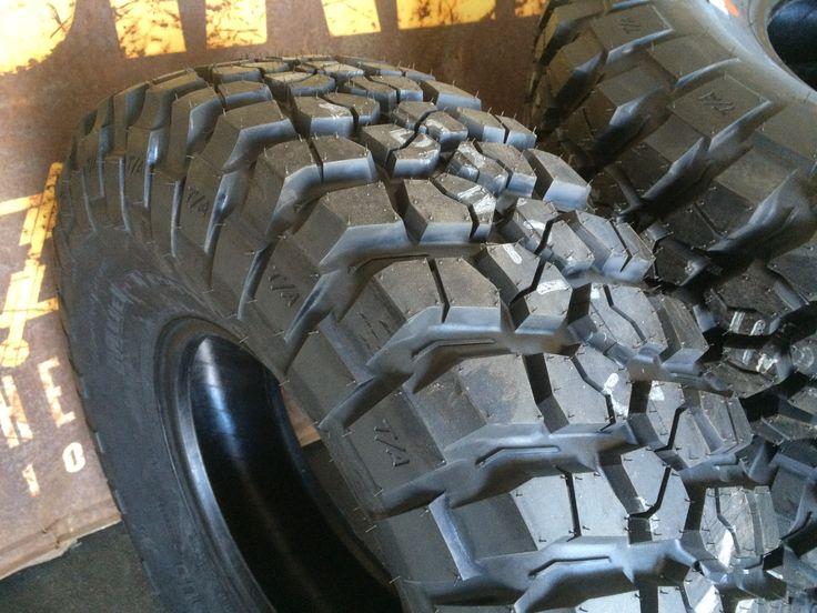 New rubber! 33x10.50-15 BFG KM2's