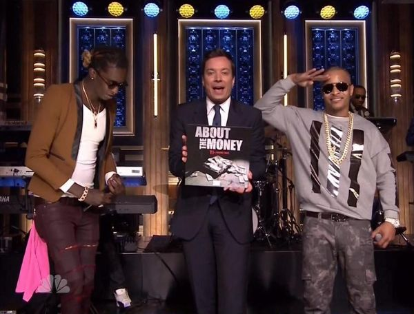 "T.I. & Young Thug Perform ""About The Money"" on 'Jimmy Fallon' (Video)"