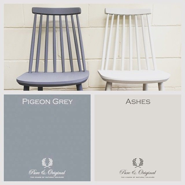 Pure & Original Classico Chalk Paint in Ashes & Pigeon Grey