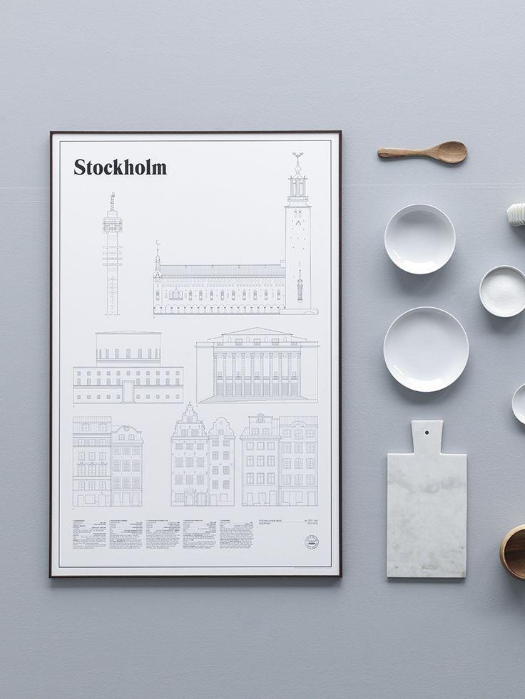 Stockholm Elevations by Studio Esinam - via cocolapinedesign.com