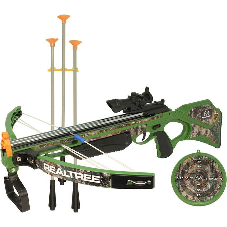 Nkok - Realtree Compound Crossbow Set - Camo Green