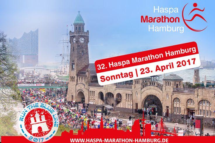 #haspamarathonhamburg2017 #runtheblueline #landungsbrücken