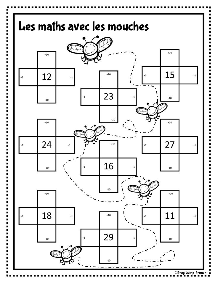C'est le printemps // French Spring Literacy and Math. 20 pages of French literacy and math activities for Grade 1 French Immersion.