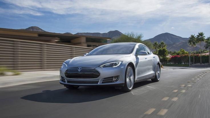 the 2013 Tesla Model S