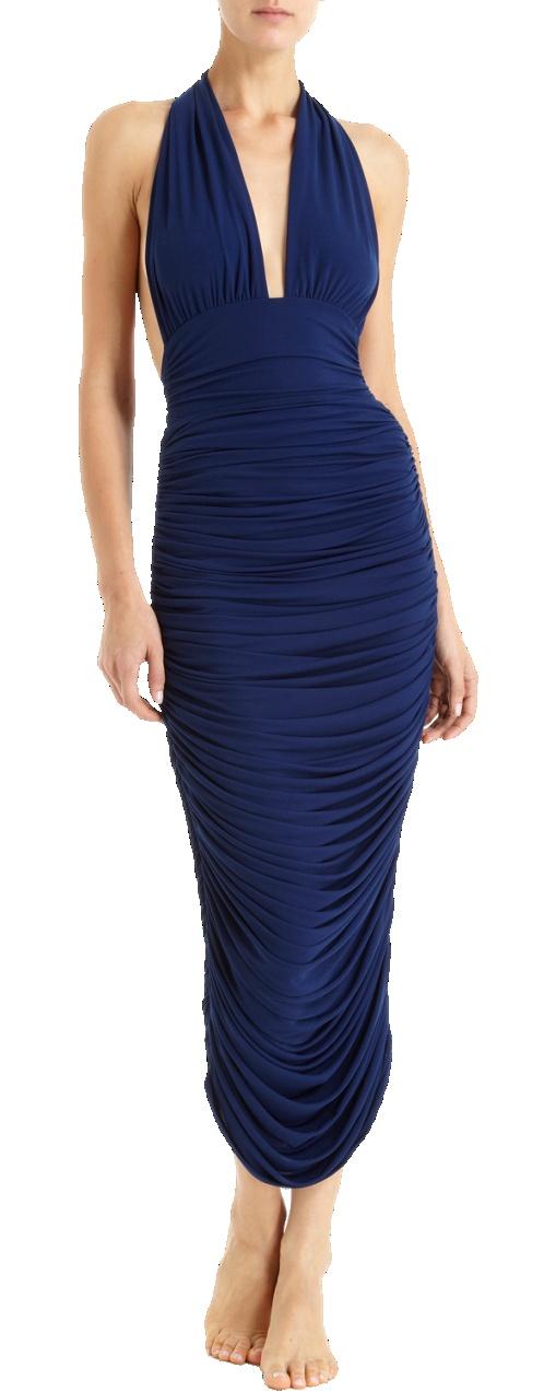 Norma Kamali -- www.whitesrose.etsy.com Go here for your Dream Wedding Dress & Fashion Gown!