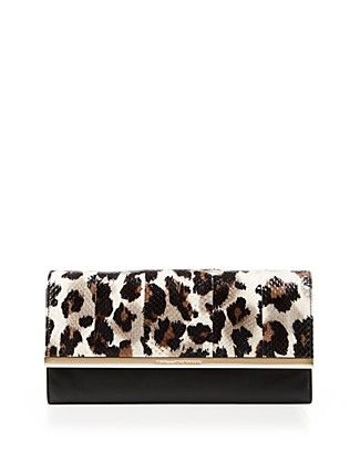 DVF clutch - The perfect clutch for an evening out. / #100PercentBloomies