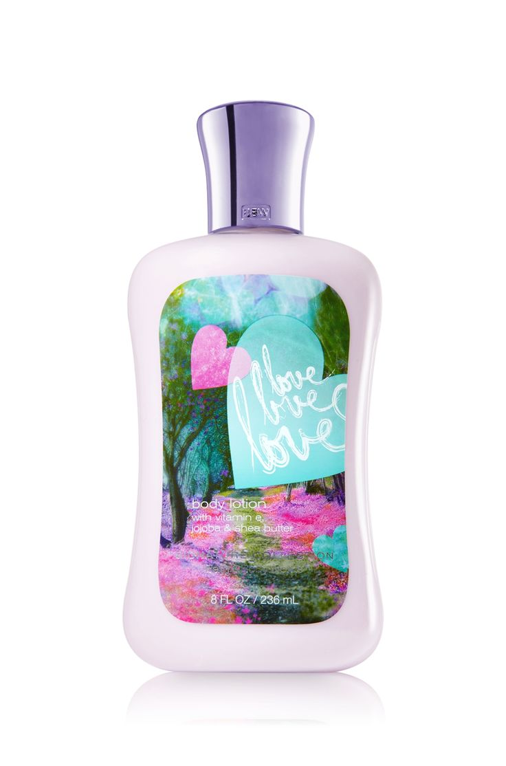 Love Love Love Body Lotion - Signature Collection - Bath & Body Works. New Favorite!