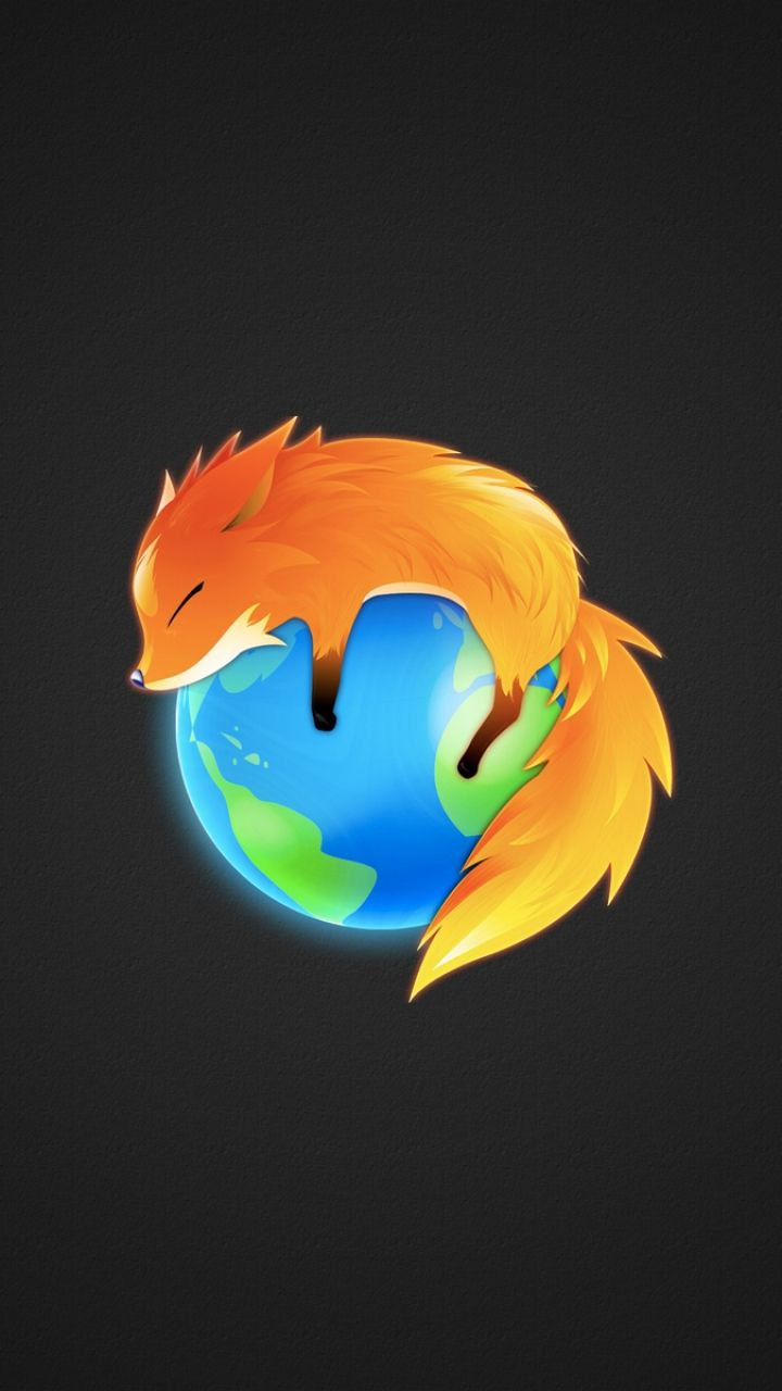 Cute Firefox Browser Mascot Tap To See More IPhone Wallpapers