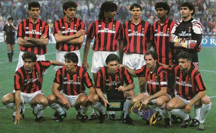Il grande Milan di Sacchi