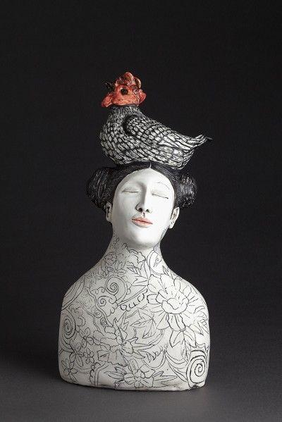 She just gets better and better #Amanda Shelsher Contemporary Ceramics - Kidigo Art House 2014 @  Deedidit D.