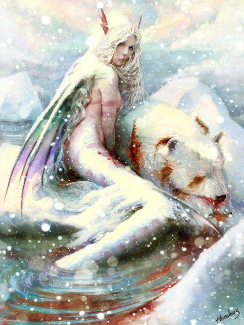 polar mermaid