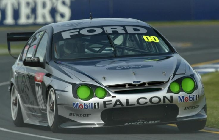 Gibson Motorsport 00 Racing Green Eyed Monster AU Falcon XR8 V8 Supercar Raced By Craig Lowndes