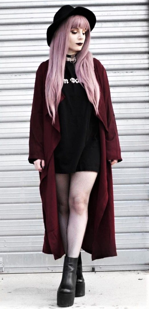 Nu-goth look by vanillasyndrome