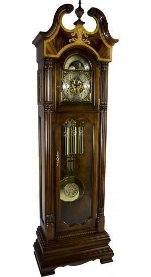 Hermle Castleton Grandfather Clock 010800n91161 Cherry Grandfather Clock Clock Grandmother Clock