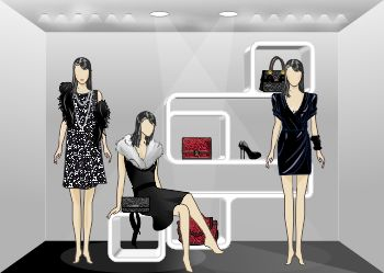 Solution for visual Merchandising  You can create layouts ultra realistic. Create your interiors from scratch, place your models and decide the number of adhesion of products. You can create, modify, customize and enrich your showrooms, booths, displays and interiors. Organize the presentation and layout of your sales space for better profits.