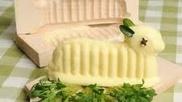 Boterlammetje bij het Paasontbijt? Hierbij de instructie om 'm zelf te maken! #Pasen