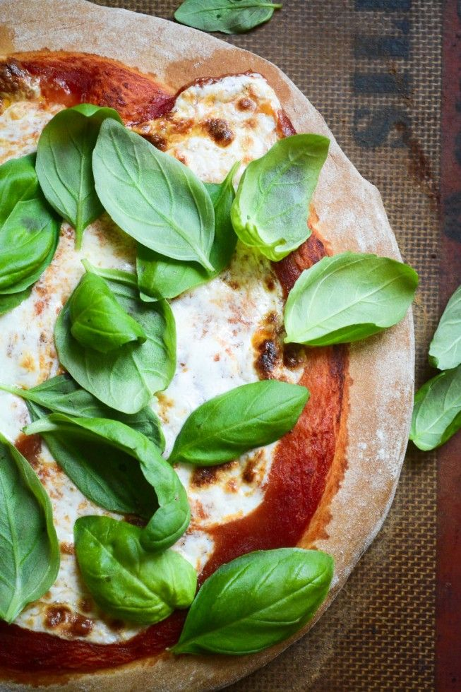 A classic Maragrita Pizza in under an hour!