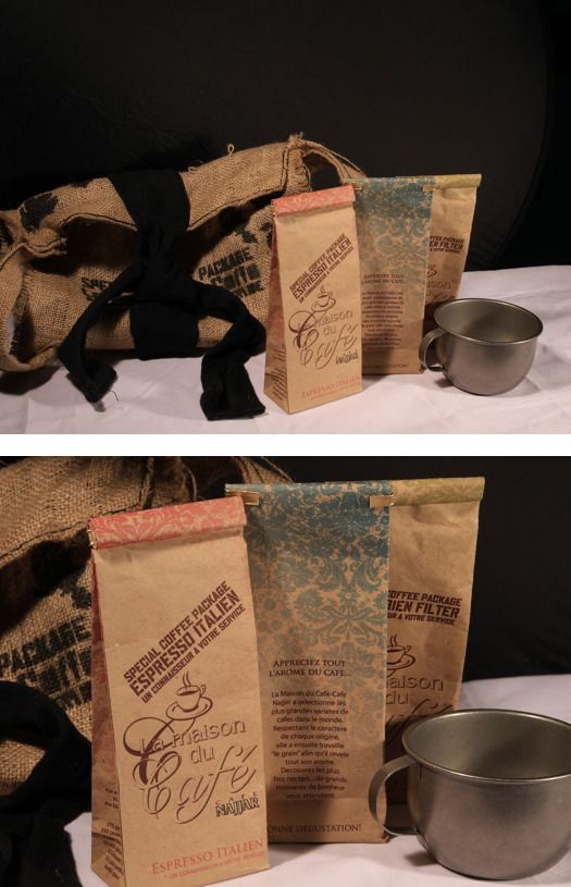 Promotional Coffee Pack by Roxanne Zalloum