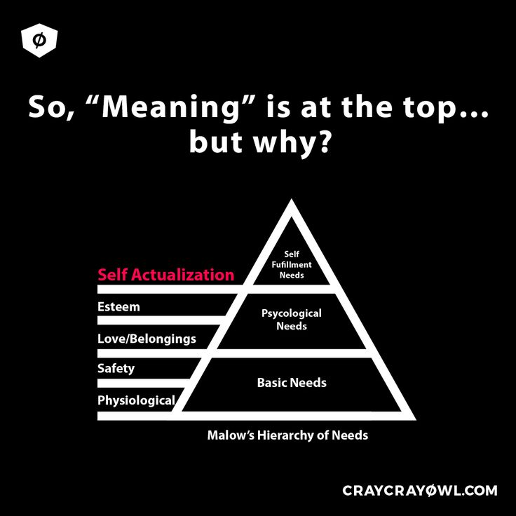 "The Maslow's Hierarchy of Needs suggests different levels of importance for human psychological and physical needs. Read about the ""Why"" on Meaning being at the top in my article! go ahead #branding #strategy #psychology"