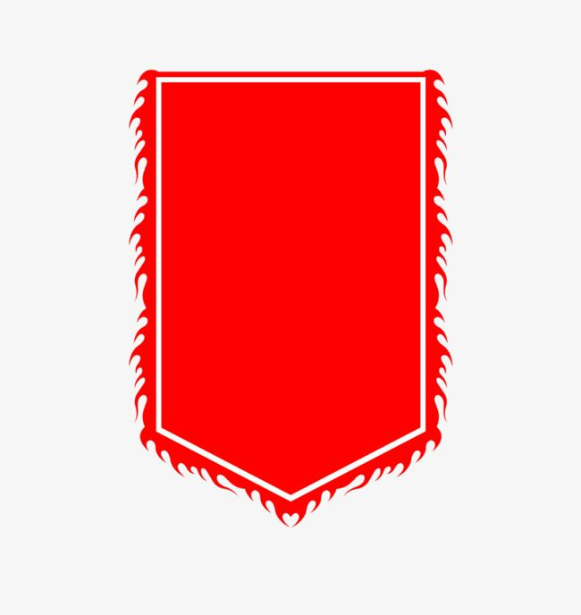 Red Banner Red Pennants A Flag Png Transparent Clipart Image And Psd File For Free Download Banner Clip Art Paper Background