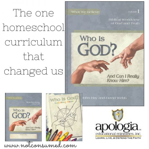 The one homeschool curriculum that changed us. A must-have for every christian homeschool. Enter to win a full year of Who is God. {Ends 3/9}