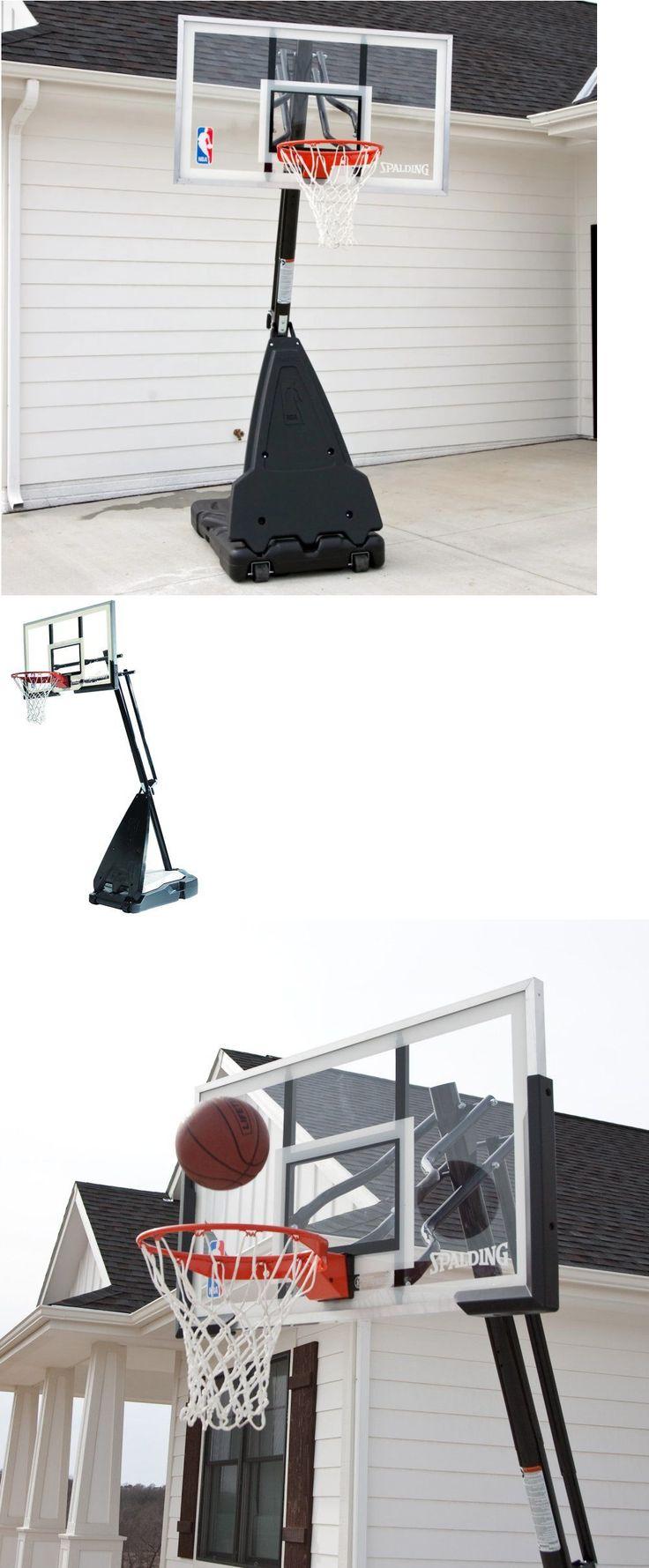Backboard Systems 21196: 54 Spalding Basketball Hoop Nba Youth Portable Boys Adjustable Jordans Mens -> BUY IT NOW ONLY: $279 on eBay!