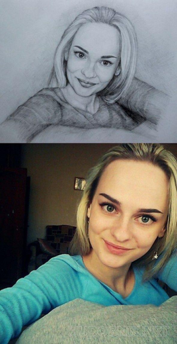 Портрет девушки Картины, портреты