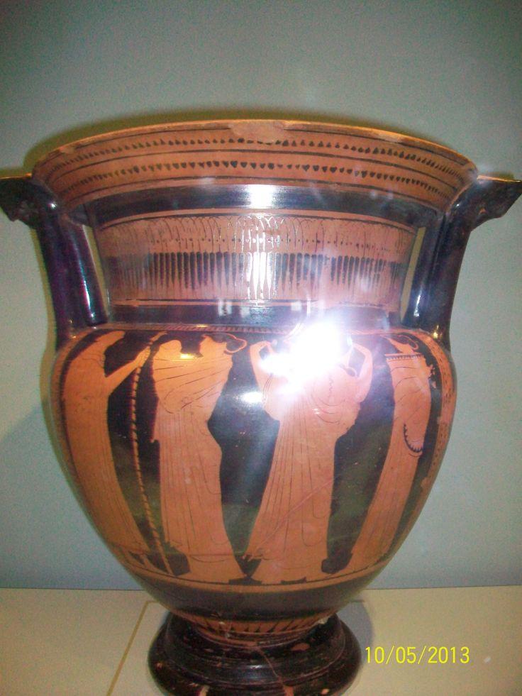Atenas hacia 460 a.c  Cronos y Rea