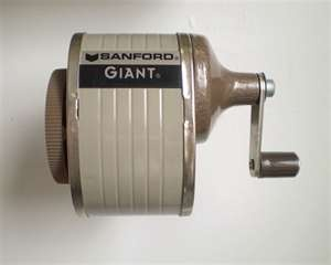 Remember the days of going to the front of the classroom to sharpen your pencil?