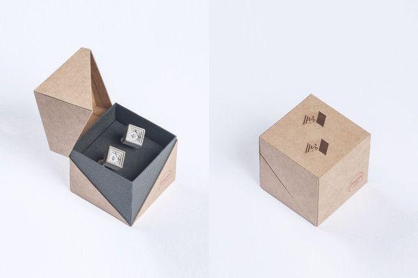 Micro Concrete Cufflinks #5   Price : €57 Euro