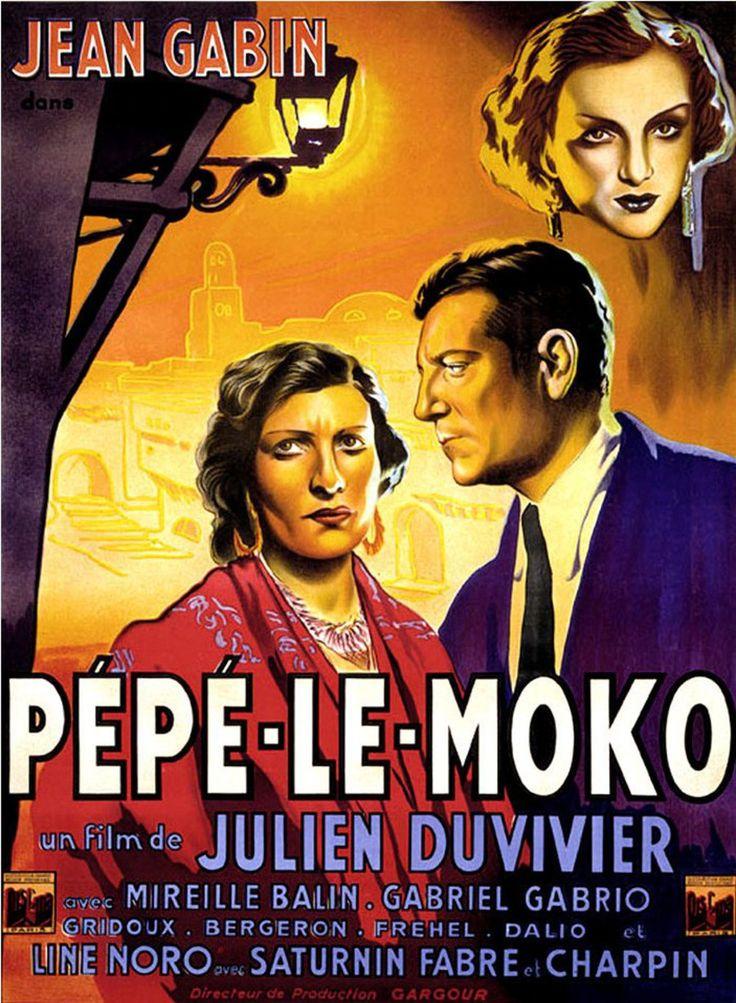 Pépé le moko 1937 - Pépé le Moko est un film français de Julien Duvivier sorti en 1937 avec Jean Gabin.