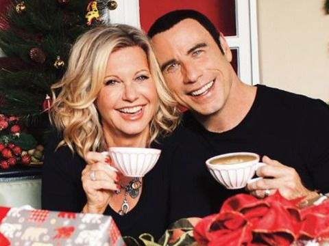 Danny and Sandy Reunite for 'Grease'-Themed Christmas Video
