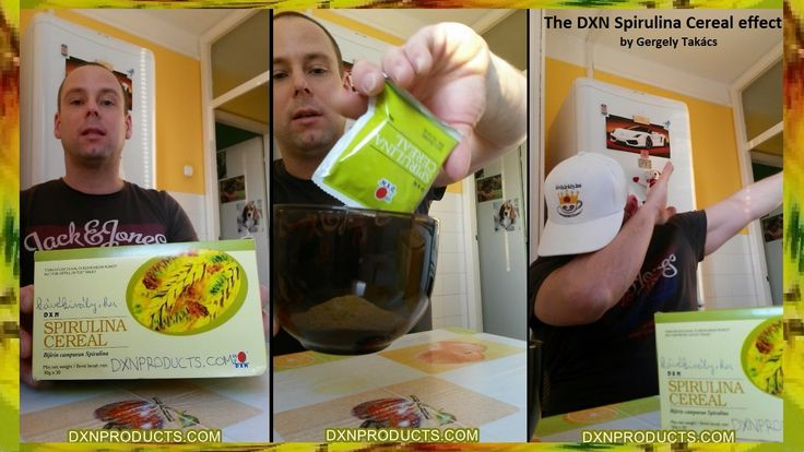 The DXN Spirulina Cereal effect plus bonus dab by Gergely Takacs