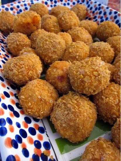 Buffalo Chicken Balls - making for Sunday's bday bash!