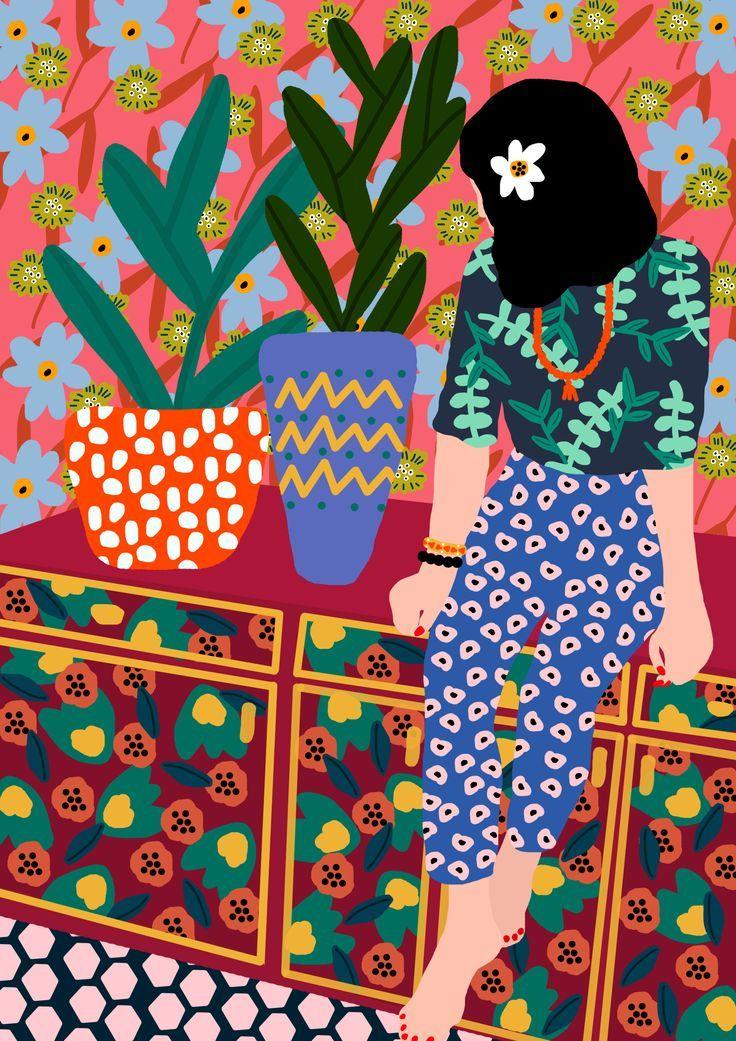Rafaela Mascaro's Colorful and Happy Illustrations