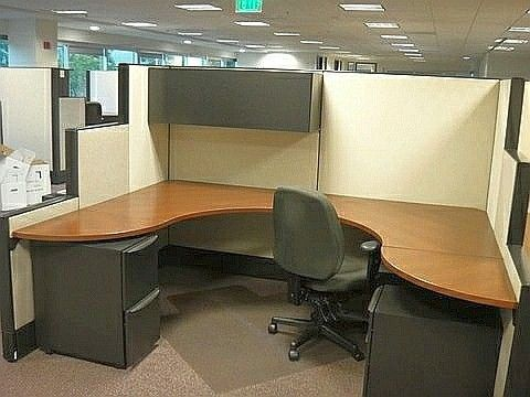 used haworth enhanced cubicle 8 x get a quote today for your next office furniture