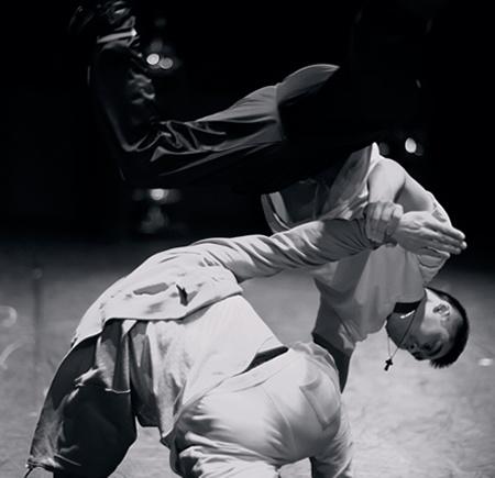 Choreography and dance by alumna Malgorzata Nowacka, from her company The Chimera Project.