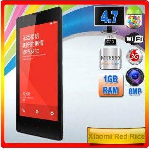 Xiaomi Red Rice (Hongmi) El gigante Xiaomi también sabe hacer terminales con un precio asequible y con unas características muy a considerar