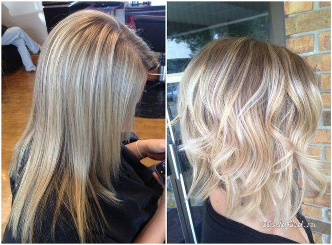 Прически и цвет волос