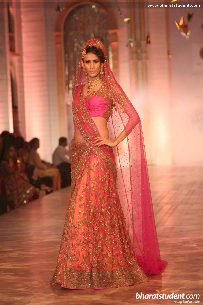 Lengha by Neeta Lulla at AVIBFW 2013