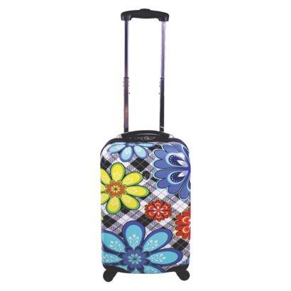 Heys Hardside Rolling Flower Print Suitcase - Medium