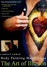 The Art of Illusion._. Body Painting Masterclass with Carolyn Cowan