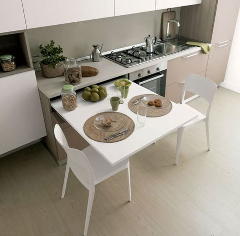 tavolo a scomparsa cucina