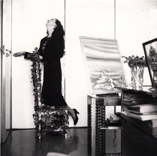 Vicomtesse Marie-Laure de Noailles  by Cecil Beaton. Vintage bromide print, 1938.