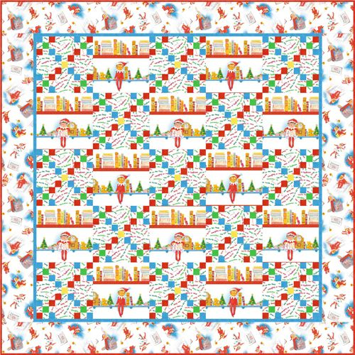 More Elf On The Shelf Quilt Baby And Kids Patterns