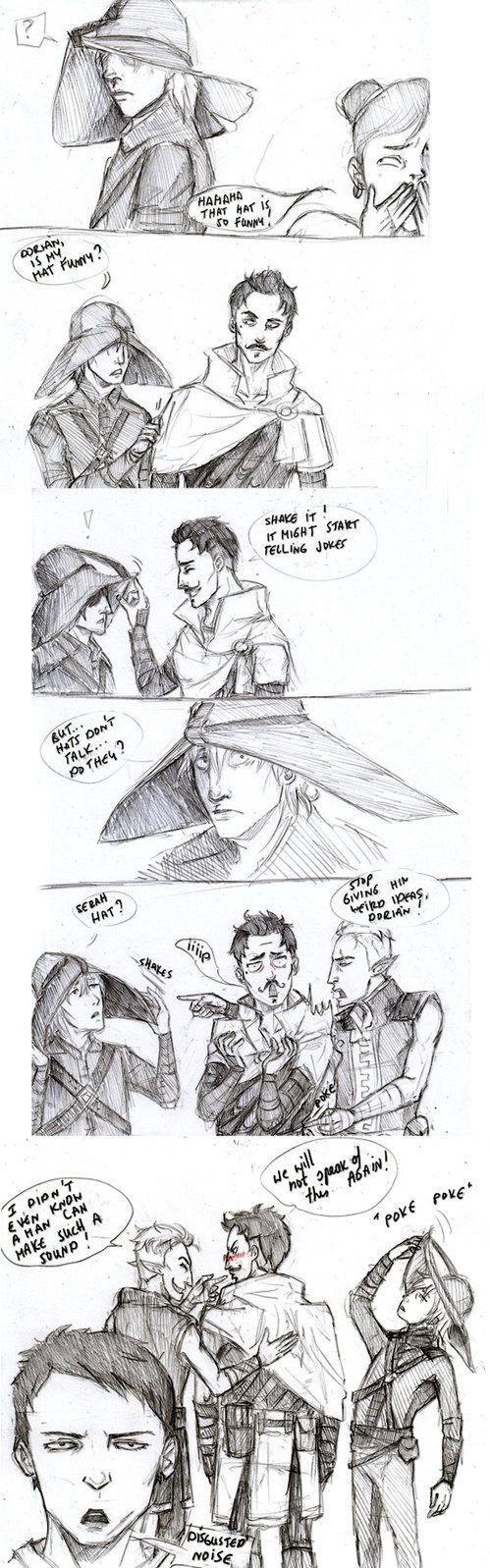 Party Banter by Sanzo-Sinclaire on DeviantArt