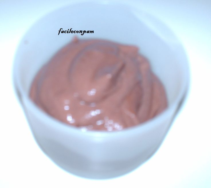 la ricetta per preparare un budino proteico di albumi al cacao da consumare in f2 nella dieta del supermetabolismo