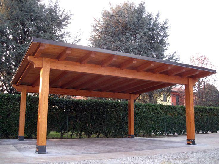 Pi di 25 fantastiche idee su copertura in legno su pinterest mantello rustico mensola in - Carport foto ...