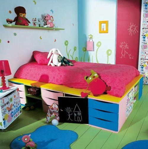 Orden e ingenio en la habitación infantil