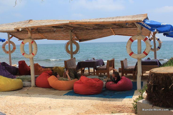 Beach Cafe Kizkalesi Turkey